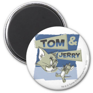 Tom et souris de Jerry Scaredey Magnets Pour Réfrigérateur