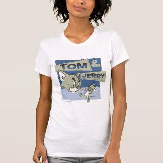 Tom et souris de Jerry Scaredey T-shirt