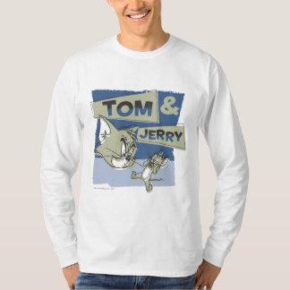 Tom et souris de Jerry Scaredey T-shirts