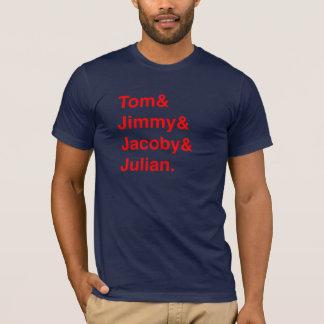 Tom Jimmy Jacoby Julian T-shirt