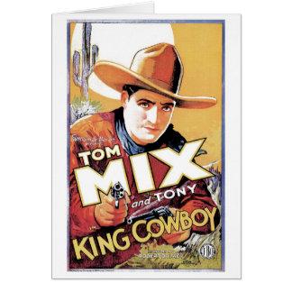 Tom Mix - le Roi Cowboy Card Cartes