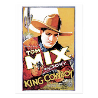 Tom Mix - le Roi Cowboy Postcard Cartes Postales