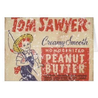 Tom Sawyer - 1945 - affligé Carte De Vœux