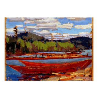 Tom Thomson - Bateaux Posters