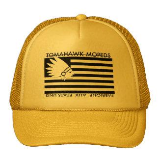 Tomahawk a broyé du noir le chapeau américain de casquettes