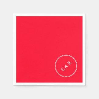 Tomate-cerise rouge lumineuse - le printemps serviette en papier