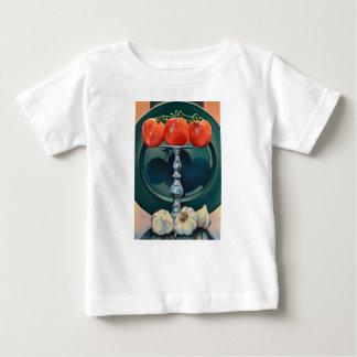 Tomate et ail t-shirt pour bébé