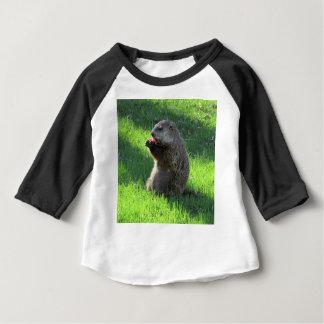 Tomate Groundhog T-shirt Pour Bébé