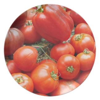 Tomates Assiette