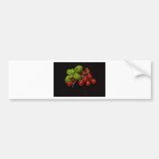 Tomates cerise Basil Autocollant De Voiture