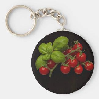 Tomates cerise Basil Porte-clés