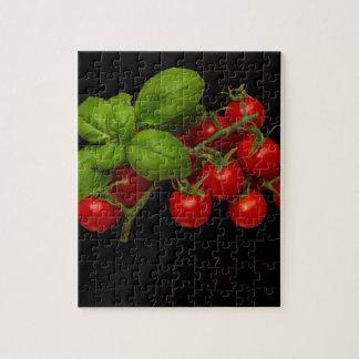 Tomates cerise Basil Puzzle
