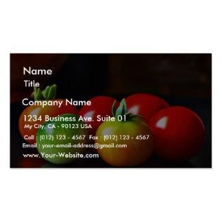 Tomates cerise carte de visite standard