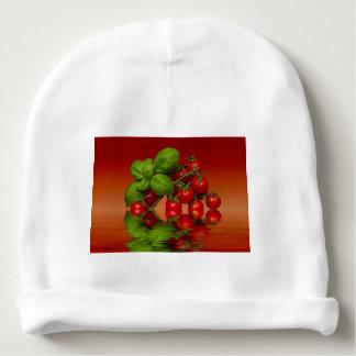 Tomates cerise rouges Basil Bonnet De Bébé