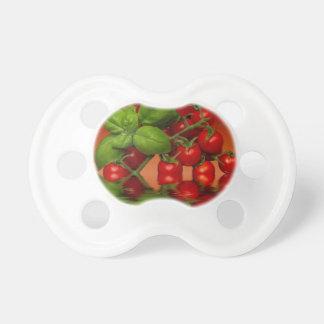 Tomates cerise rouges Basil Tétine