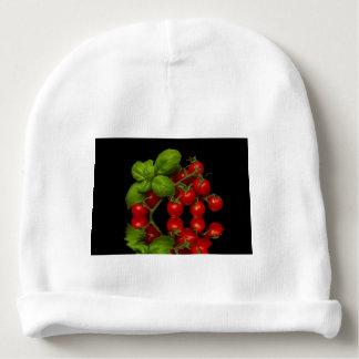 Tomates cerise rouges fraîches bonnet de bébé