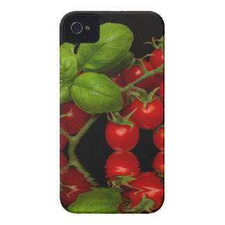 Tomates cerise rouges fraîches coque iPhone 4