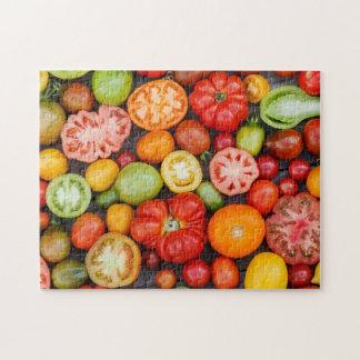 Tomates colorées puzzle