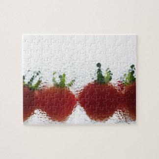 Tomates dans l'eau puzzle