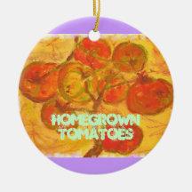 tomates du cru décorations de noël