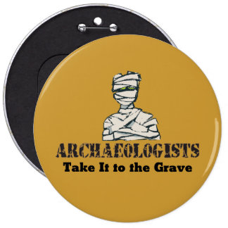 Tombe d'archéologue badge