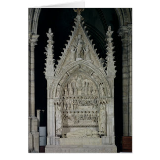 Tombe du roi de Dagobert I des contreseings Carte De Vœux