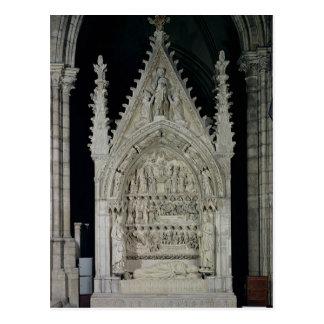 Tombe du roi de Dagobert I des contreseings Cartes Postales
