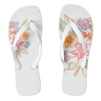 Tongs bascules de Floral-style