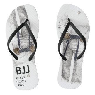 Tongs Bascules électroniques de ceinture noire de BJJ