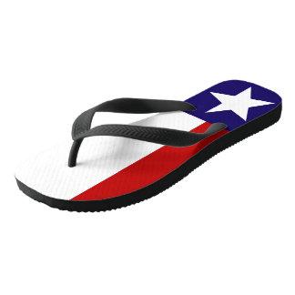 Tongs Bascules électroniques de fierté de drapeau d'état