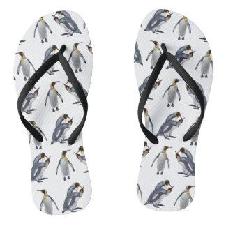 Tongs Bascules électroniques de frénésie du Roi pingouin