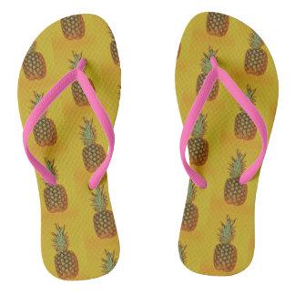 Tongs BASCULES ÉLECTRONIQUES de l'ananas des femmes