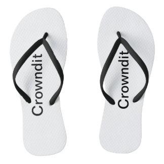Tongs Chaussures adultes de bain de Crowndit