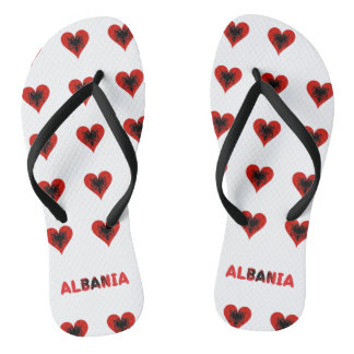 Tongs Coeurs albanais
