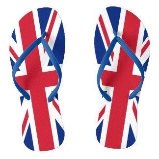 Tongs Drapeau royal BRITANNIQUE de la Grande-Bretagne