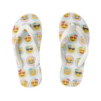 Tongs Enfants Bascules électroniques colorées d'Emoji