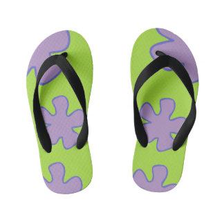 Tongs Enfants Chaussures hawaïennes colorées