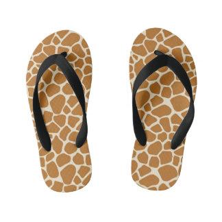 Tongs Enfants Copie de girafe