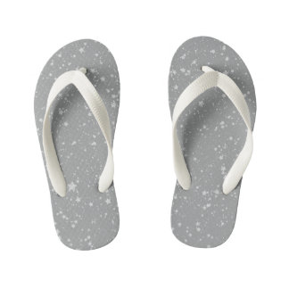 Tongs Enfants Parties scintillantes Stars4 - Argent