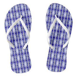 Tongs Pirouettes bleues