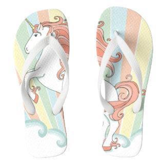 Tongs Sandales de bascule électronique de licorne