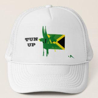 TONNE de la Jamaïque VERS LE HAUT du casquette