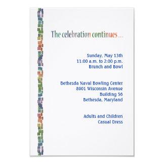 Torah maximum Reception3 Carton D'invitation 8,89 Cm X 12,70 Cm