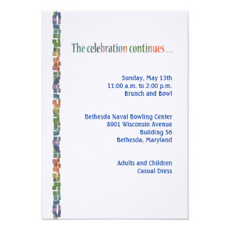 Torah maximum Reception3 Carton D'invitation
