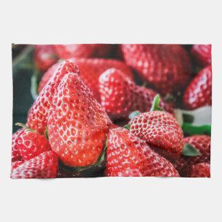 Torchon cuisine fraise
