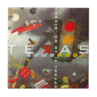 Tornades du Texas Petit Carreau Carré