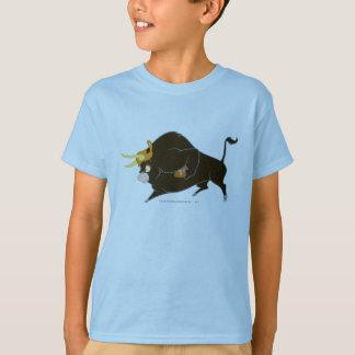 Toro la pleine charge de Taureau T-shirt