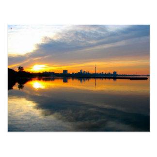 Toronto au lever de soleil - carte postale