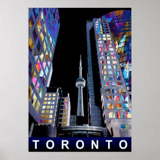 Toronto dans le graffiti posters