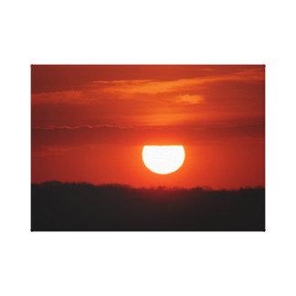 Toronto échoue le lever de soleil toile